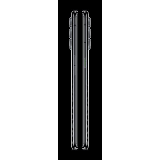 Oppo Reno 4 pro 5g,vertical, space black.