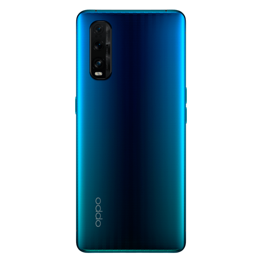 OPPO FIND X2 trasera, Ocean Glass