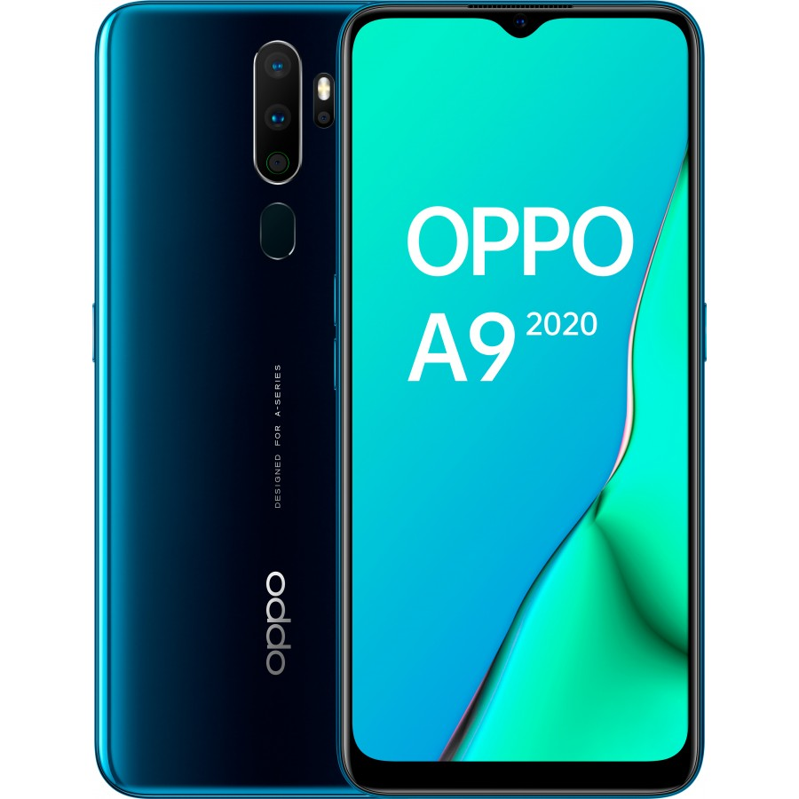 OPPO A9 2020 Frontal y Trasera