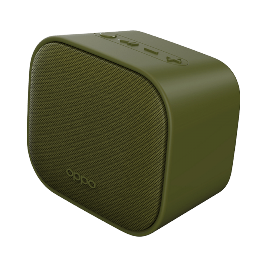 Oppo Bluetooth Speaker, Trasera diagonal verde