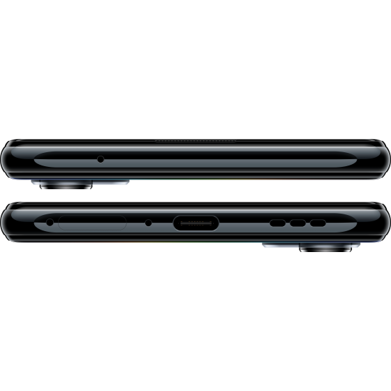 Oppo reno 4 5g, horizontal, space black