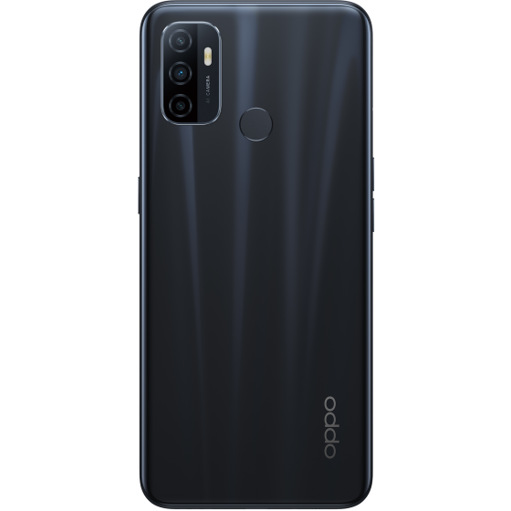 OPPO A53 S Electric Black, Trasera
