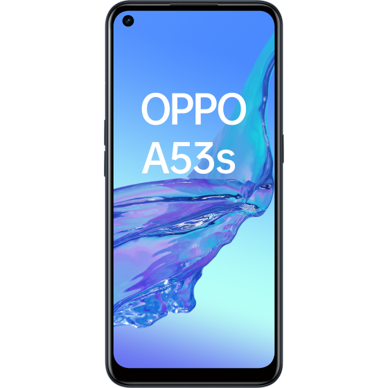 OPPO A53 S Electric Black, Frontal