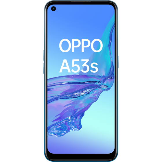 OPPO A53 S Fancy Blue, Frontal