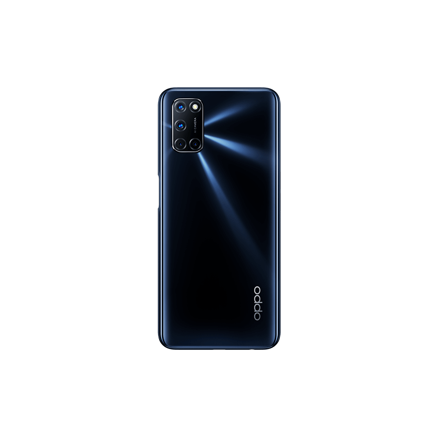 OPPO A72 Twilight Black, Trasera