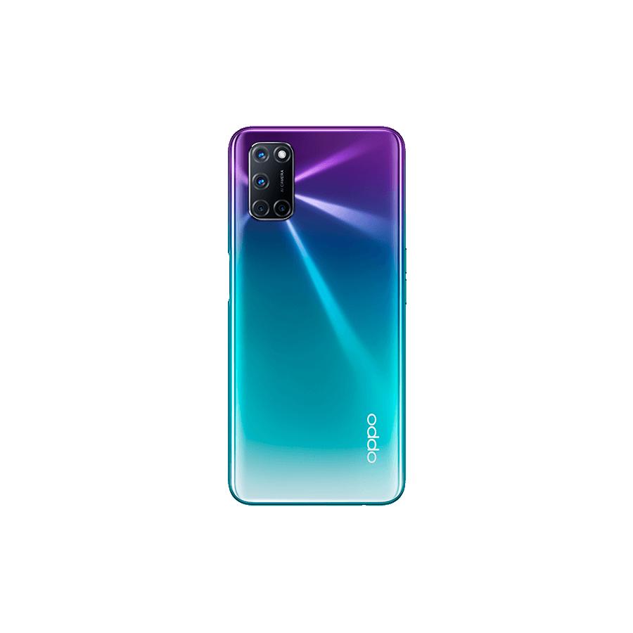 OPPO A72 trasera, Aurora Purple